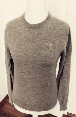 toller pullover von.versace beige gr.m