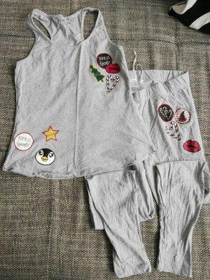 C&A Pijama gris claro