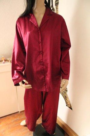 H&M Pigiama bordeaux-rosso scuro