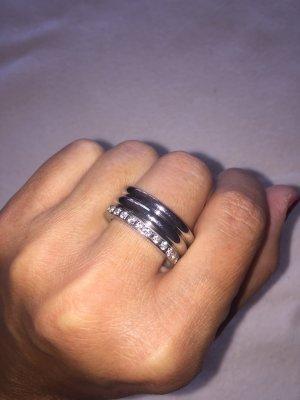 Anello di fidanzamento grigio chiaro
