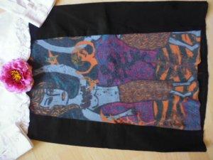 Custo Barcelona Wool Skirt multicolored mixture fibre