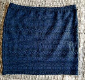 toller rock gr.l vila schwarz dunkelblau + schwarze leggins