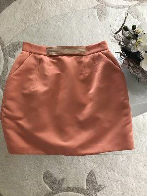 Elisabetta Franchi Tulip Skirt orange