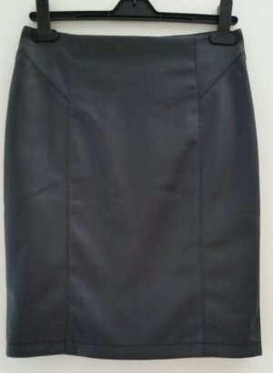 Pencil Skirt black imitation leather