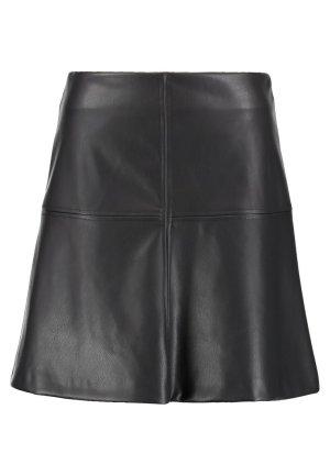 Wallis Falda de cuero de imitación negro