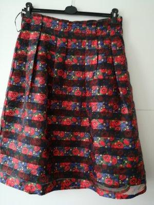 Yumi Falda de talle alto multicolor