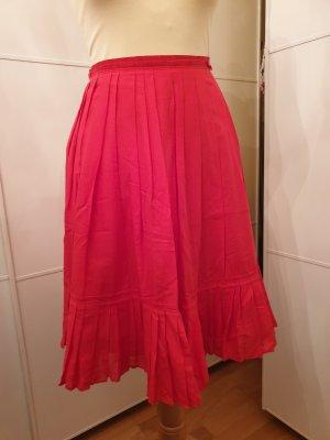 toller roter Sommerrock von Zara