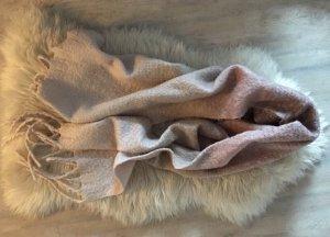 Amisu Écharpe en tricot or rose-beige clair