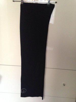 Toller Schal in Jersey schwarz mit PEACE Zeichen