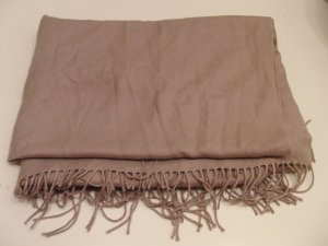 Codello Fringed Scarf light brown-grey brown viscose