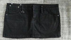 toller schwarzer jeansrock von mango gr.40