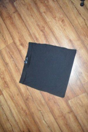 Toller schwarzer strechiger Basic Rock Gr. S von H&M
