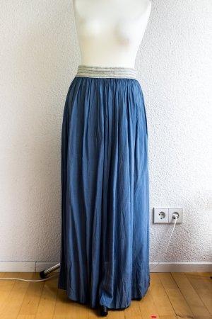 Toller schwingender Faltenrock in blau - Sarah Steyle - Gr. S M L 36 38 40