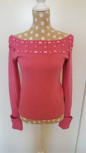 toller, sehr aussergewöhnlicher Pullover von Dept, pink, Gr.S