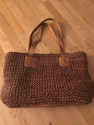 Toller Shopper / Handtasche von Fredsbruder (cognacbraun) #Leder #fredsbruder