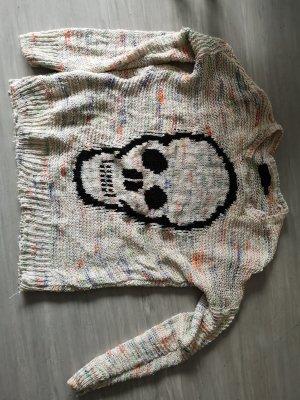 Toller Skull Totenkopf Pullover von Bershka