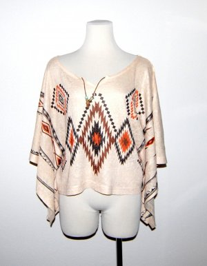 Toller Sommer Poncho Mexico von Apricot Gr. M/L