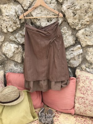 3 Suisses Flared Skirt brown