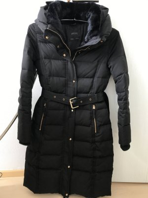 Zara Veste d'hiver noir-doré