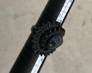 toller Strass Ring * WOW * für Gothic Steampunk * Vintage * Viktorianisch * Rokoko * Größe 53 * Bling Bling
