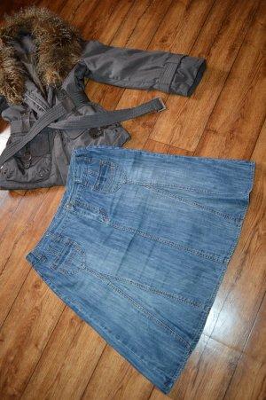 Street One Gonna di jeans multicolore