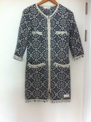Odd Molly Gebreide jas donkerblauw Katoen