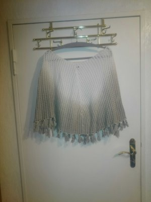 toller Strickponcho in Ombre-Look