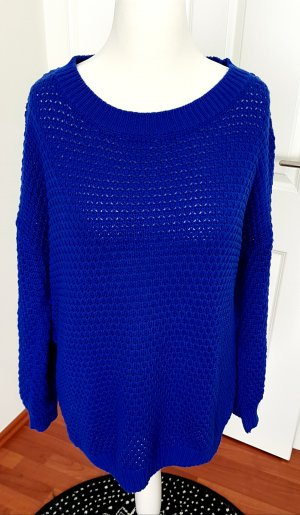 Adidas Pull oversize bleu