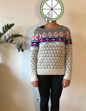 American Eagle Outfitters Pullover a maglia grossa multicolore Tessuto misto