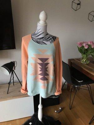 Wildfox Sweatshirt turkoois-nude