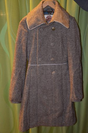 Toller Tom Tailor Denim Mantel Wolle Gr. XS