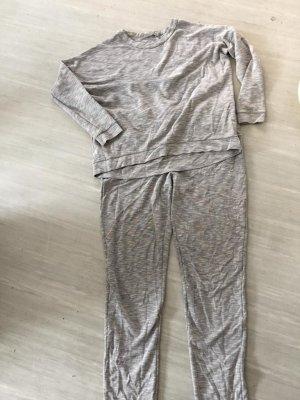 COS Leisure suit light grey-grey