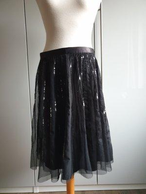 Ashley Brooke Tulle Skirt black