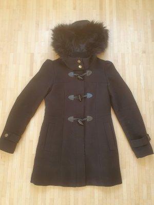 Esprit Abrigo con capucha negro