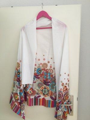 Codello Pashmina white-violet cotton