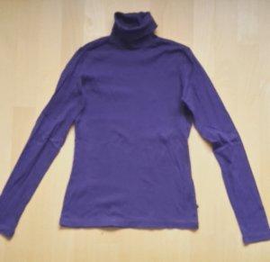 Vero Moda Jersey de cuello alto lila-violeta oscuro