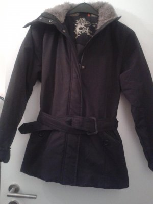 Outdoor Jacket black cotton