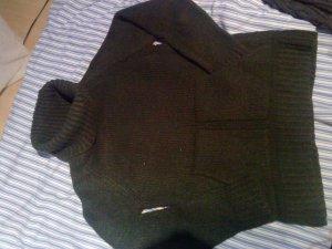 toller warmer Rollkragenpullover dunkelgrün Eddie Bauer XS