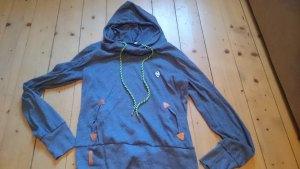 toller weicher Hoodie Kapuzenpulli Gr. 42 jeansblau