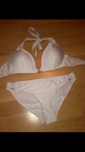 Toller weißer Bikini h&m