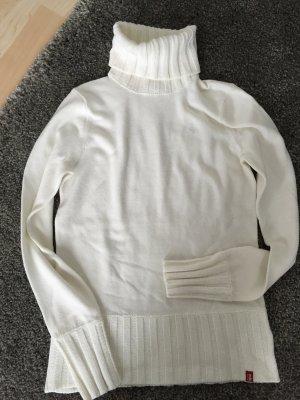 Toller weißer Rollkragenpullover / EDC By Esprit / Größe 36