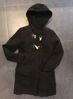 Zara Abrigo de invierno negro