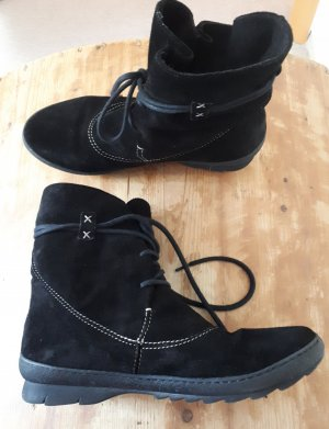 Winter Booties white-black