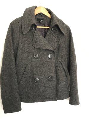 H&M Giacca di lana grigio