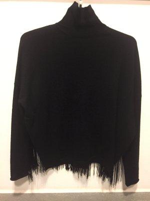 Toller Wollpullover in schwarz von Dorothee Schumacher, Größe 3