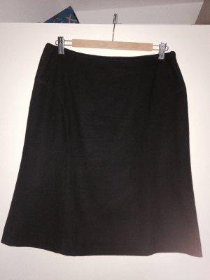 More & More Jupe mi-longue noir tissu mixte