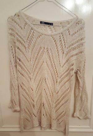 toller wollweißer Pullover