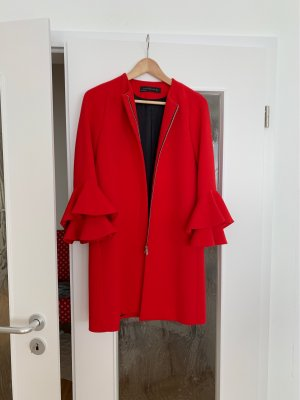 Zara Korte Jas rood