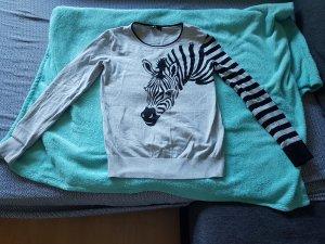 Toller Zebrapullover