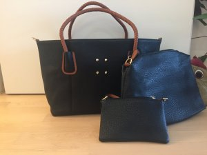 Shopper black-brown